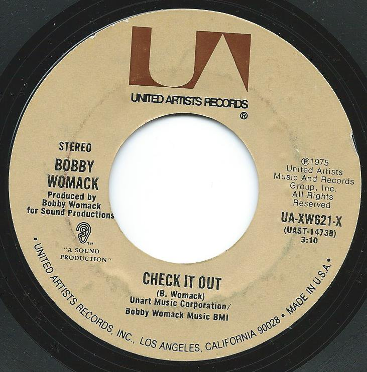 BOBBY WOMACK / CHECK IT OUT (7