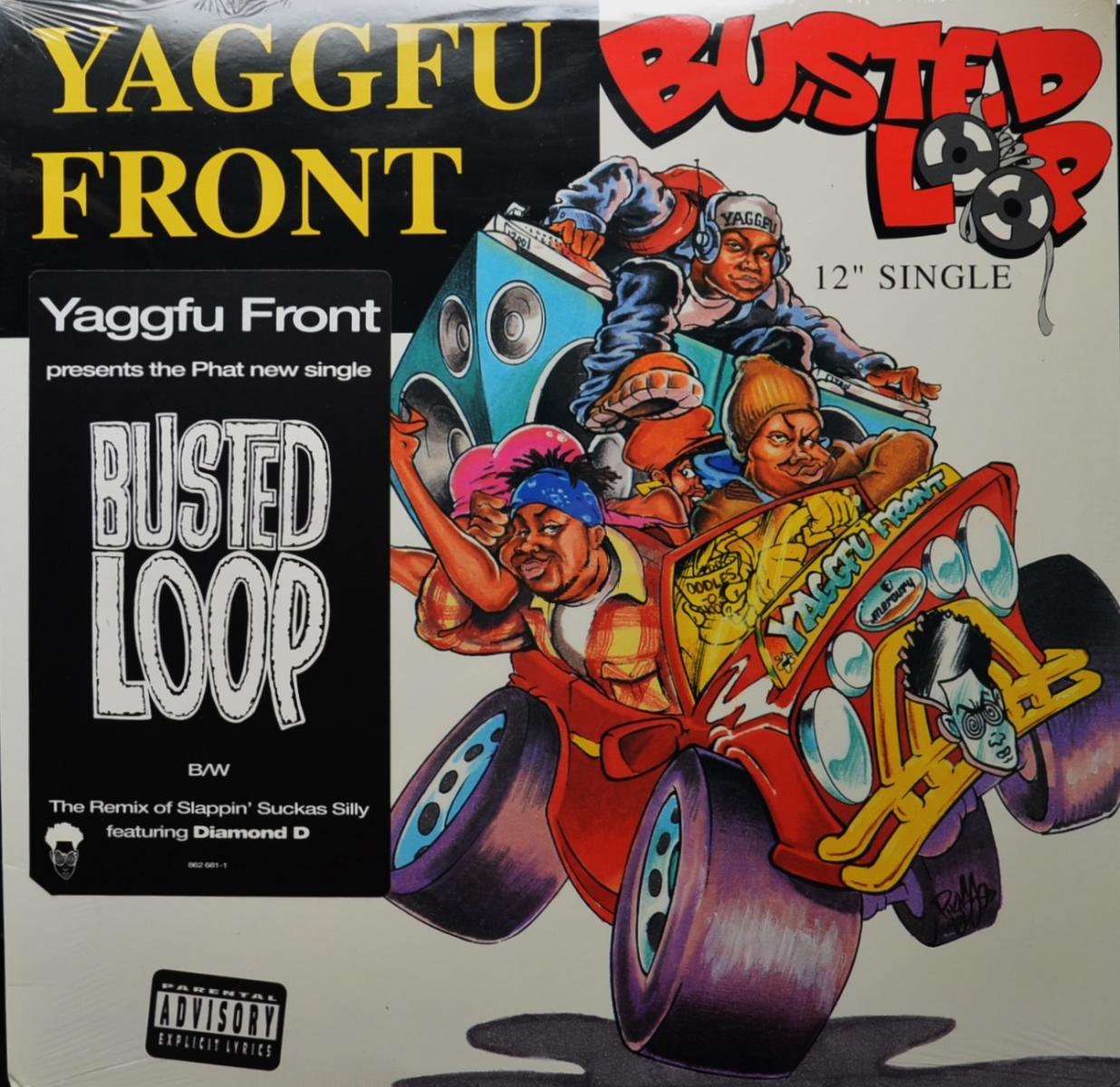 YAGGFU FRONT / BUSTED LOOP (12