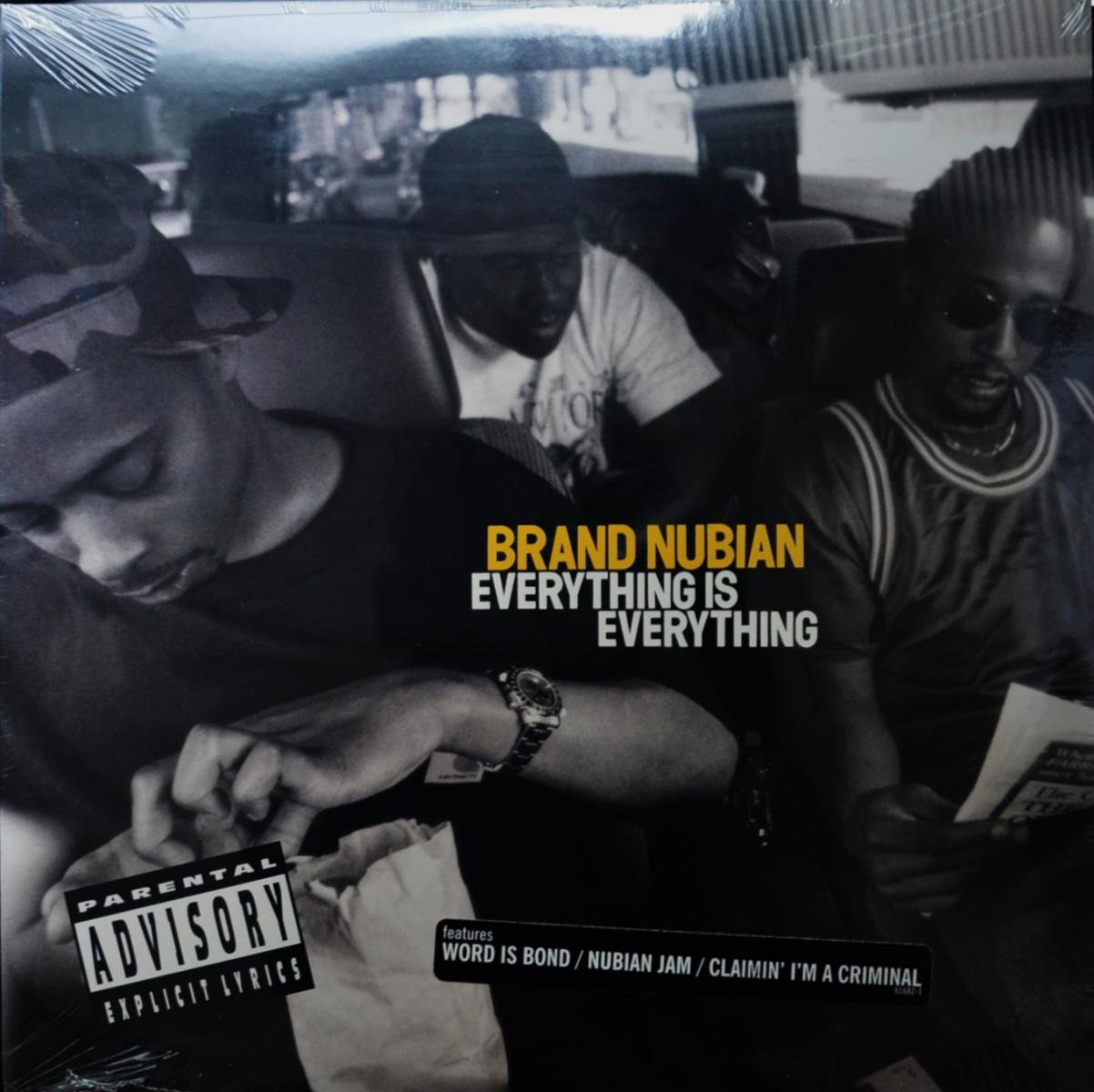 BRAND NUBIAN / EVERYTHING IS EVERYTHING (LP)