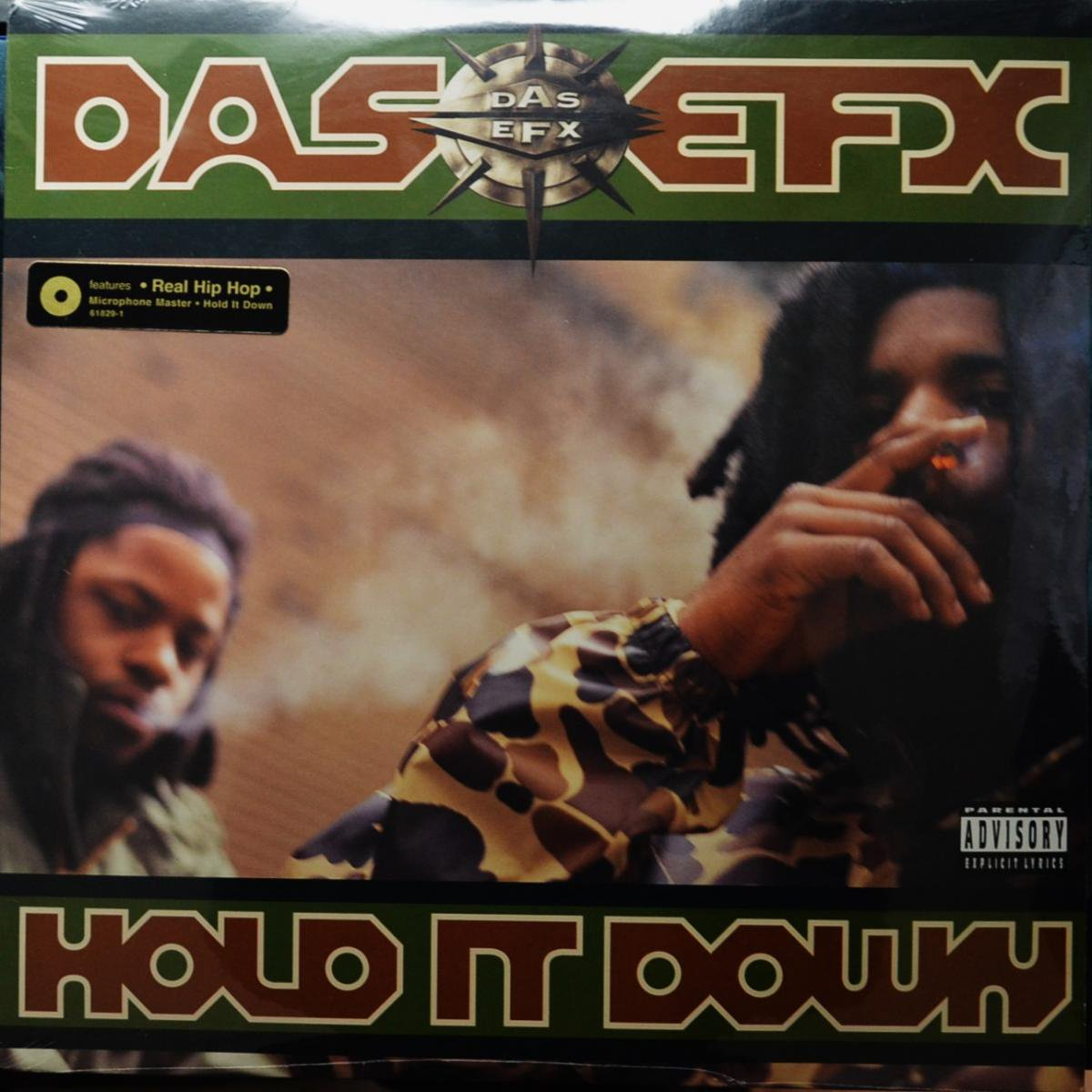 DAS EFX / HOLD IT DOWN (LP)