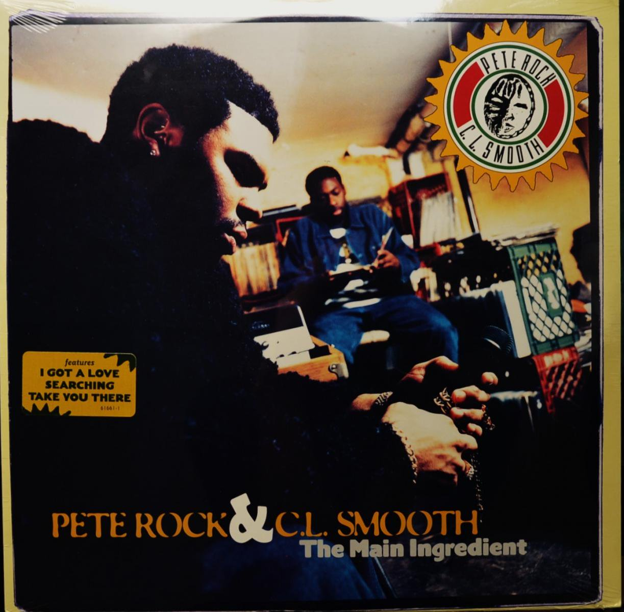 PETE ROCK & C.L.SMOOTH / THE MAIN INGREDIENT (LP)