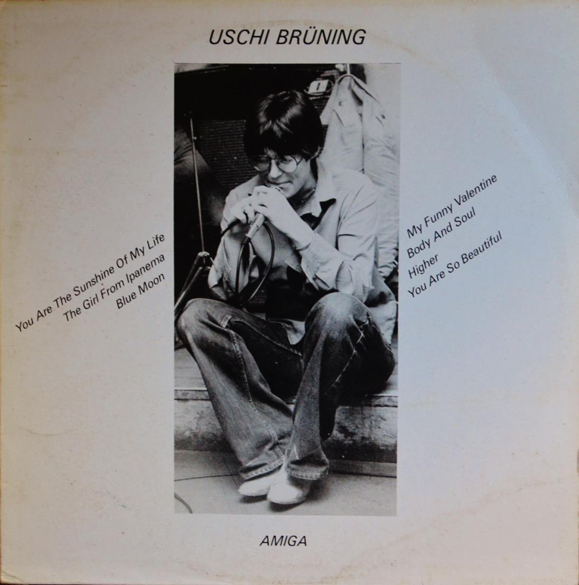 USCHI BRUNING / SAME (LP)