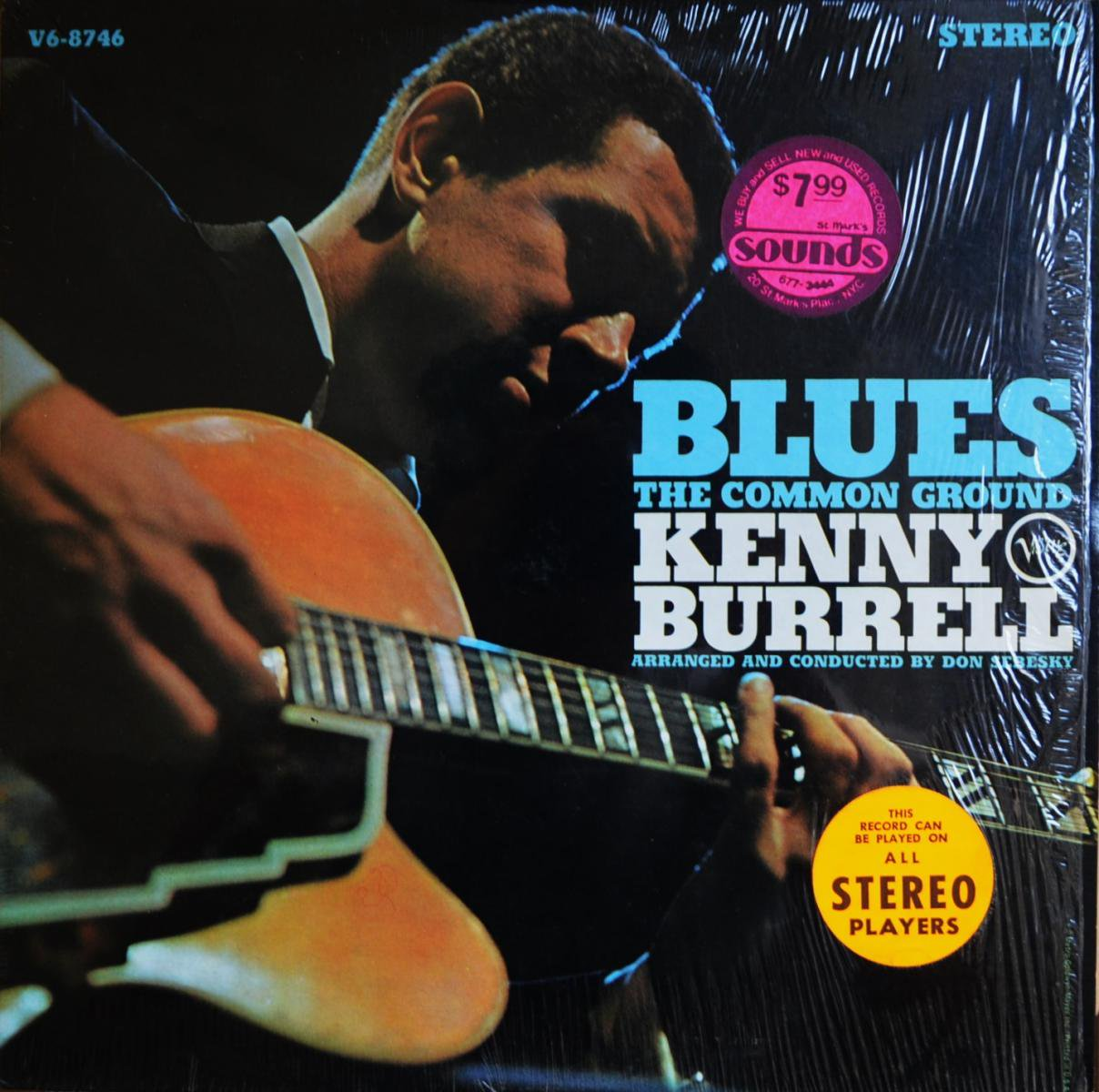 KENNY BURRELL / BLUES THE COMMON GROUND (LP)