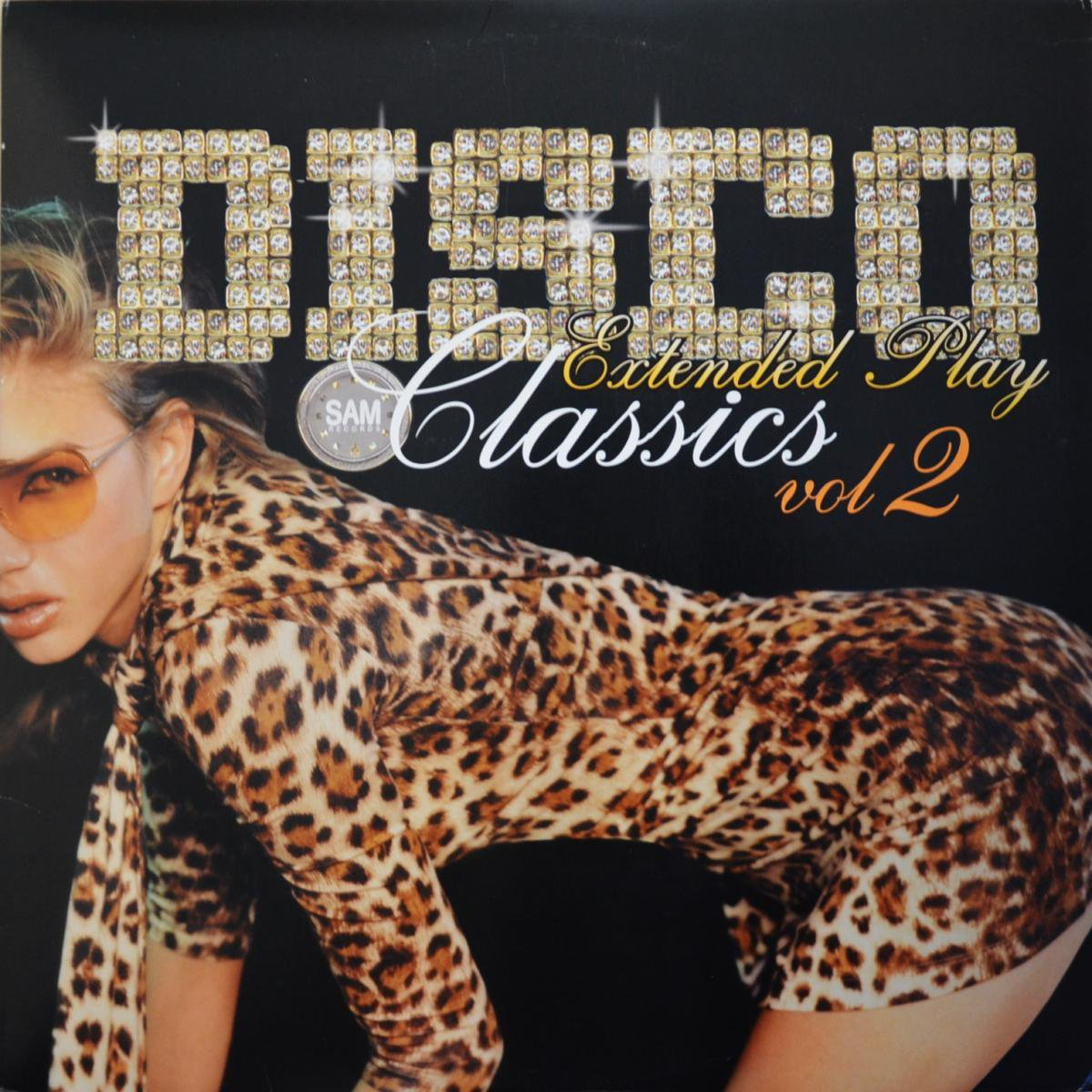 V.A. (John Davis,K.I.D.,Rhyze...) / DISCO CLASSICS(Sam Records Extended Play VOL.2) (2LP)