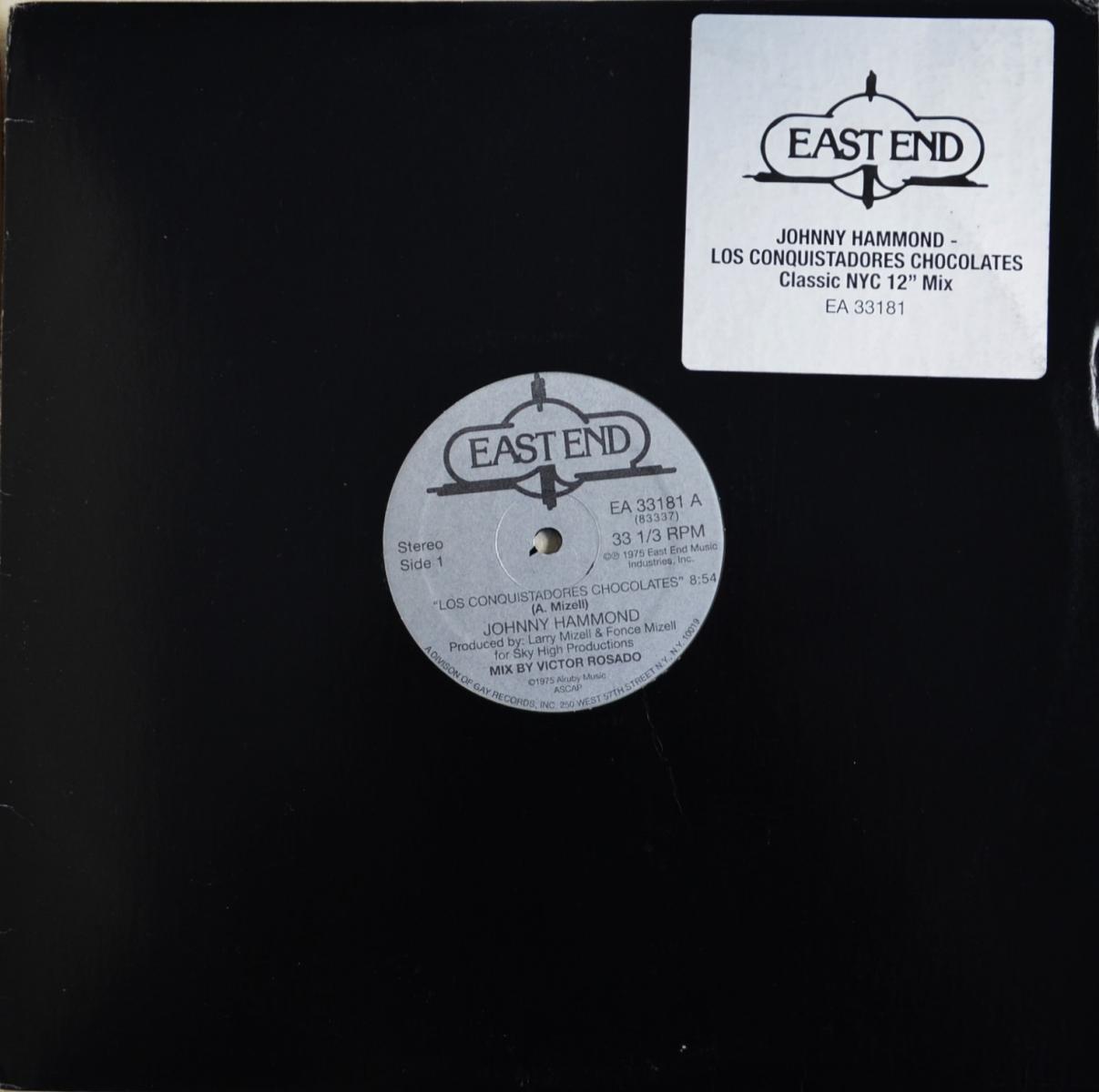 JOHNNY HAMMOND / LOS CONQUISTADORES CHOCOLATES-Victor Rosado Mix (12