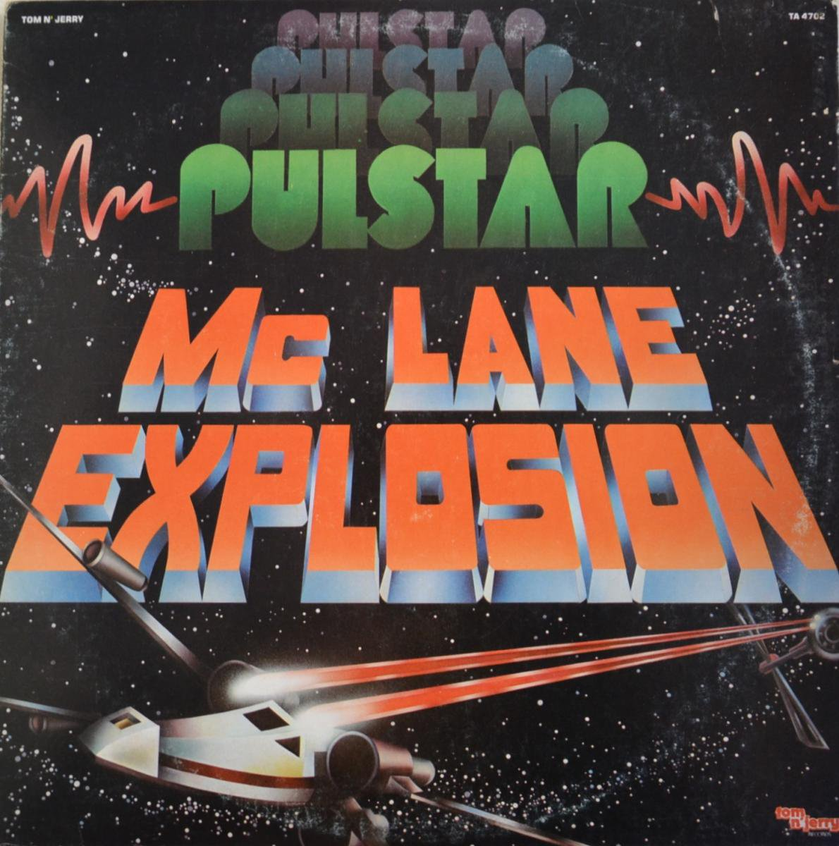 MC LANE EXPLOSION / PULSTAR (LP)