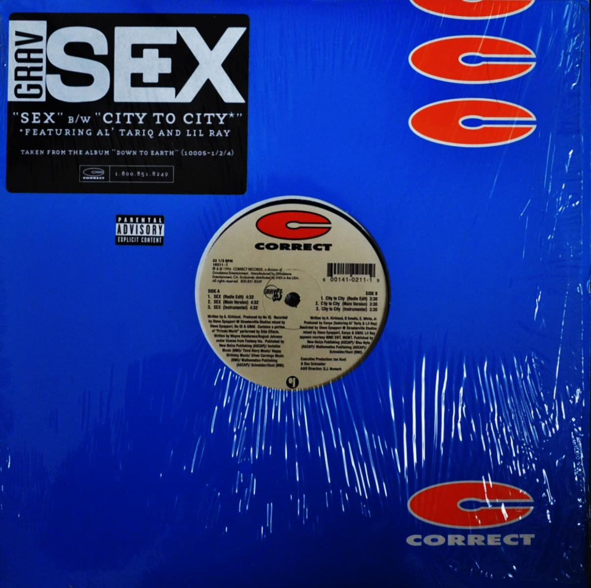 GRAV / SEX / CITY TO CITY (12