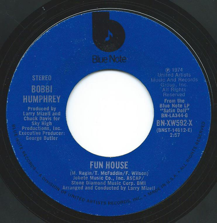BOBBI HUMPHREY / FUN HOUSE / SAN FRANCISCO LIGHTS (7