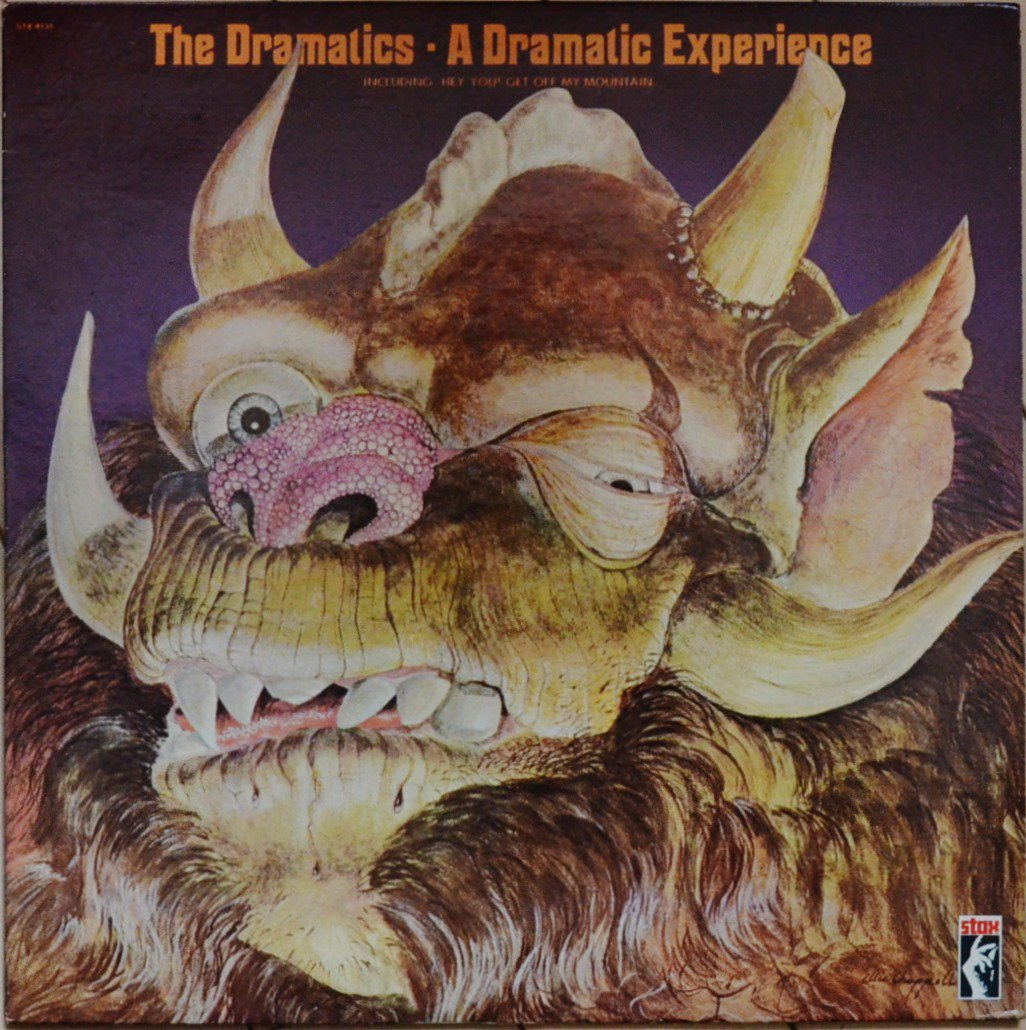 THE DRAMATICS / A DRAMATIC EXPERIENCE (LP)