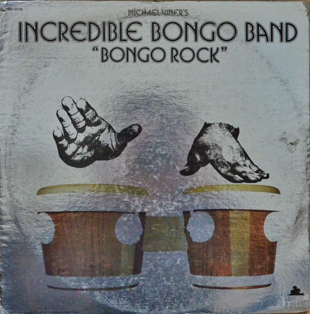 INCREDIBLE BONGO BAND / BONGO ROCK (LP)