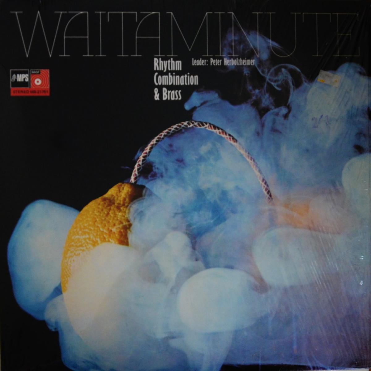 RHYTHM COMBINATION & BRASS (Peter Herbolzheimer) / WAITAMINUTE (LP)