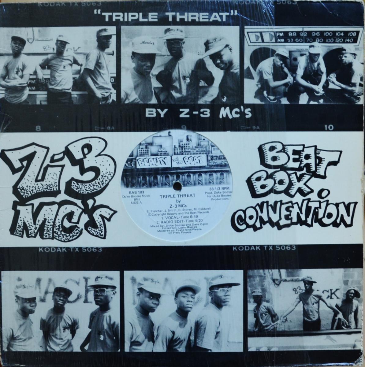 Z-3 MCs TRIPLE THREAT (12