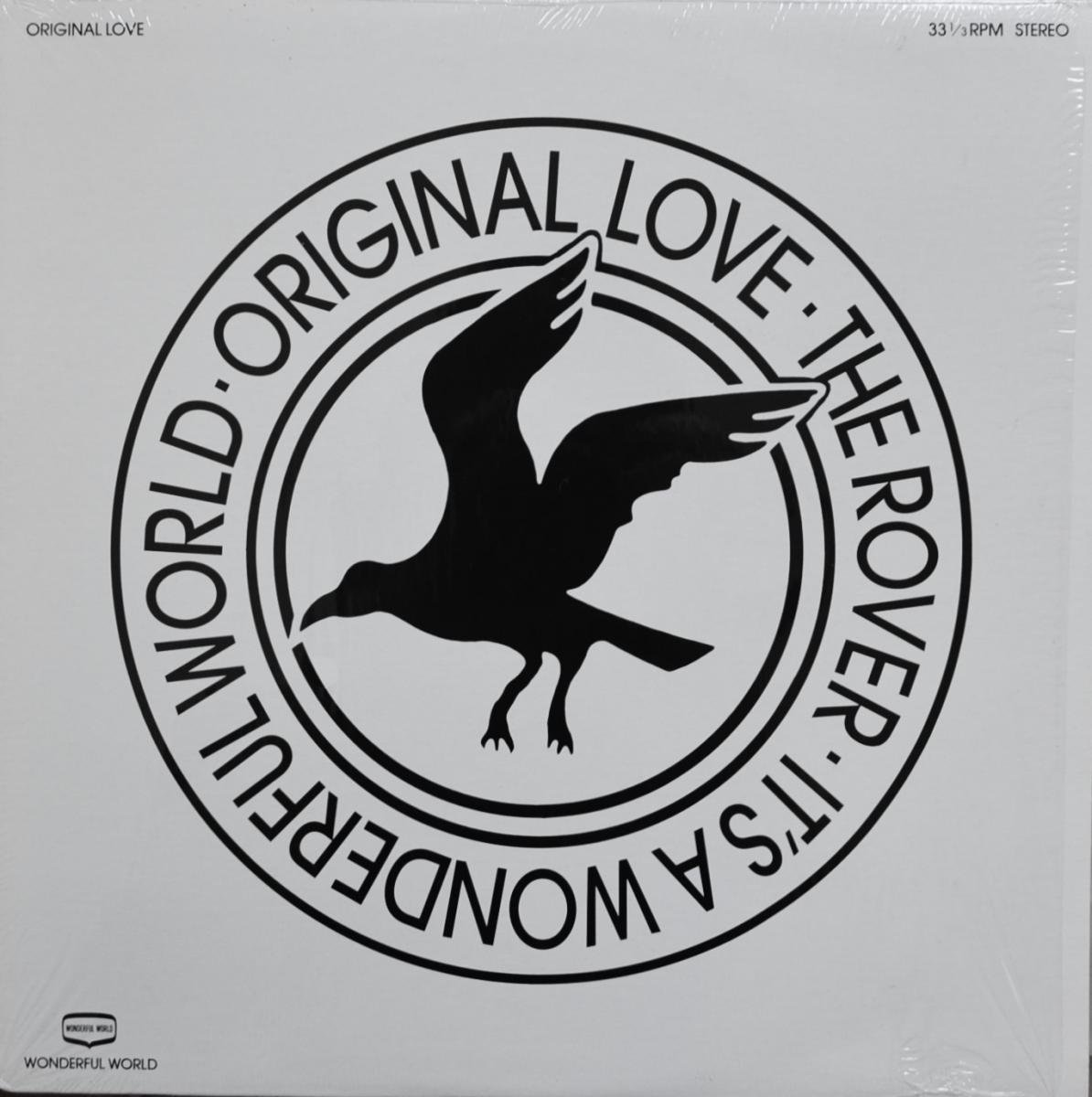 オリジナル・ラブ ORIGINAL LOVE / THE ROVER / IT'S A WONDERFUL WORLD-REMIX (12