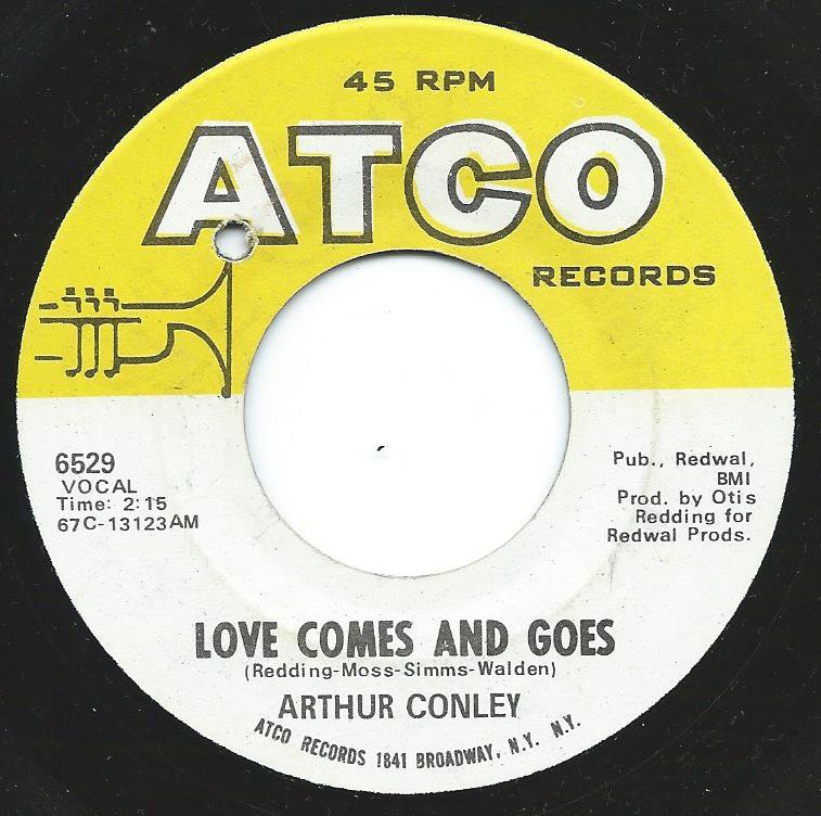 ARTHUR CONLEY / WHOLE LOTTA WOMAN / LOVE COMES AND GOES (7