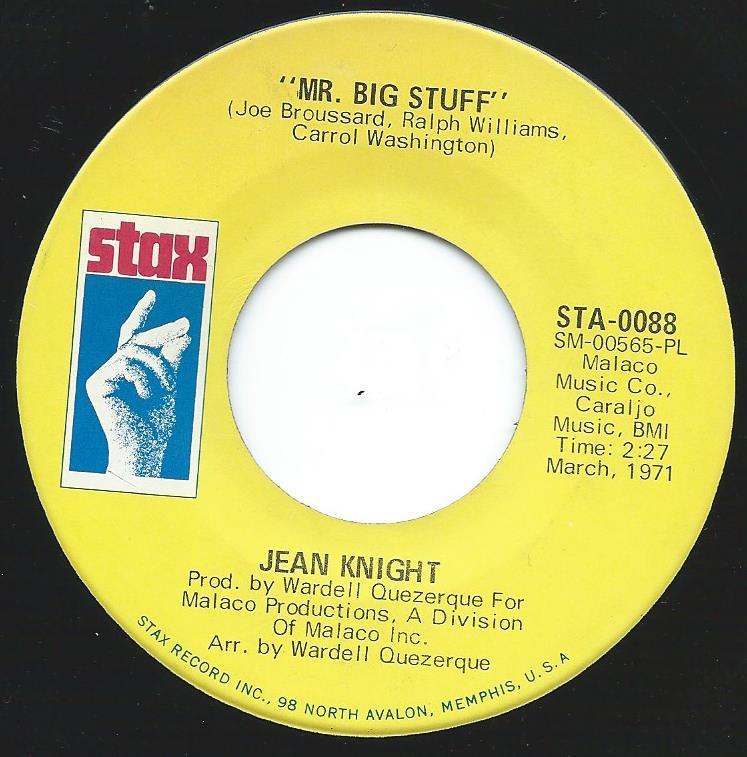 JEAN KNIGHT / MR. BIG STUFF (7