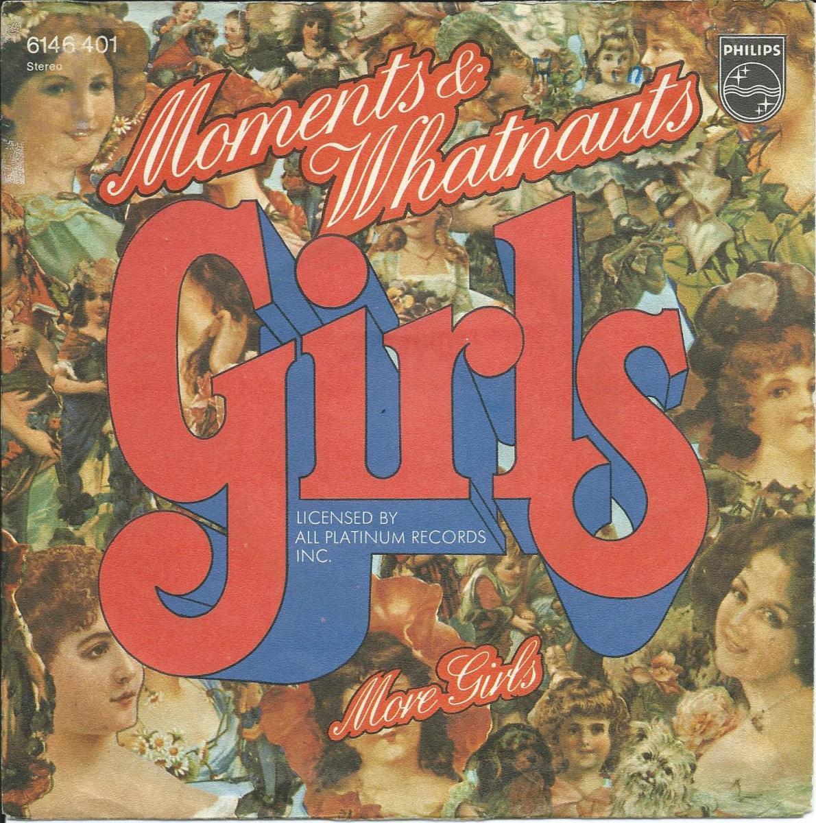 MOMENTS & WHATNAUTS / GIRLS - (GERMANY PRESS) (7