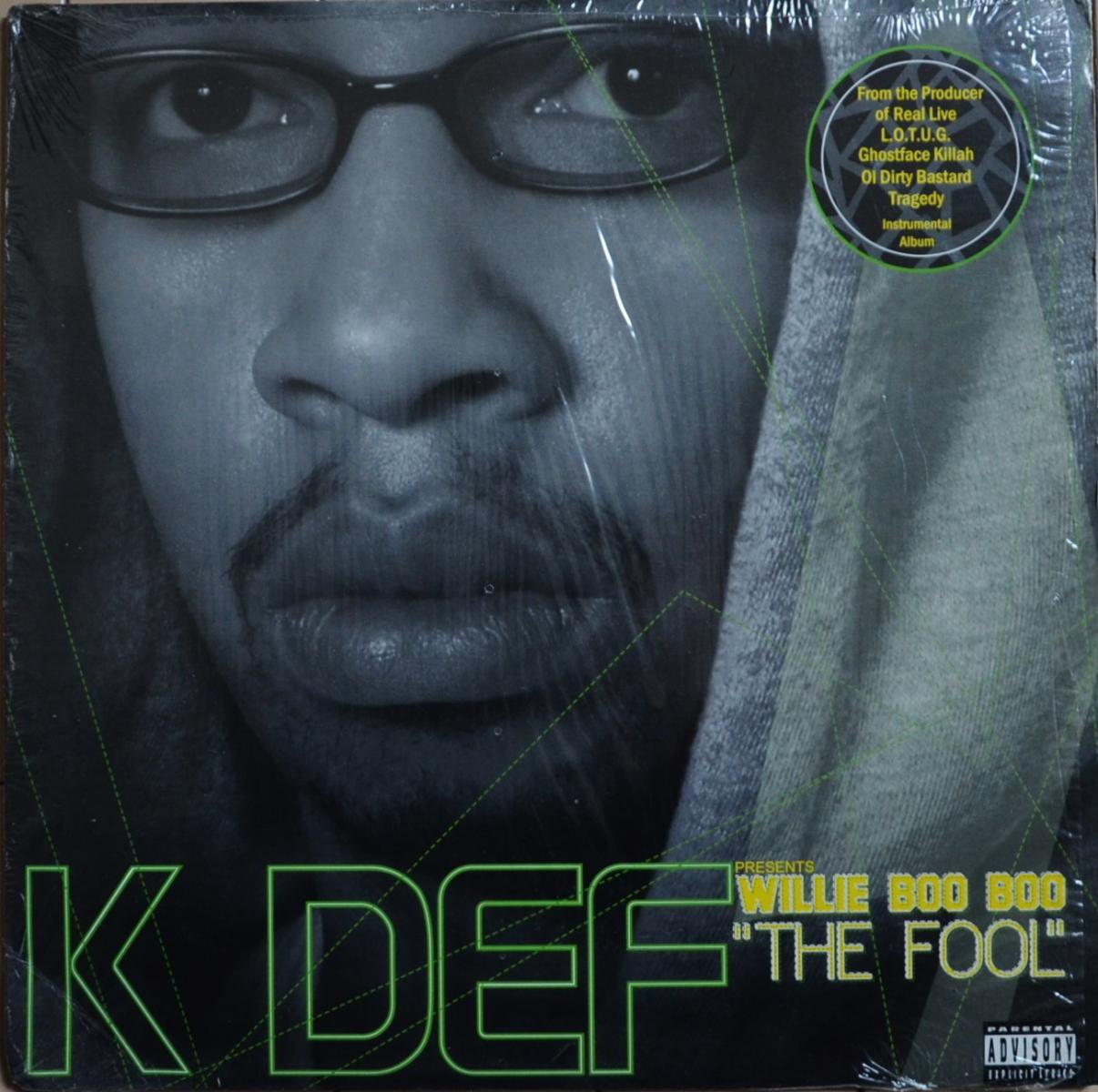K-DEF PRESENTS WILLIE BOO BOO / THE FOOL (LP)