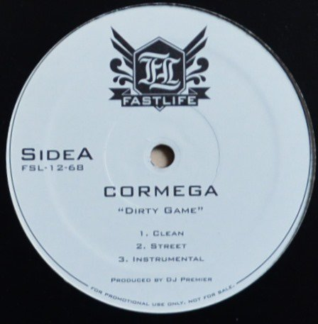 CORMEGA / DIRTY GAME (Produced By DJ PREMIER) / DIRTY NEW YORK (12