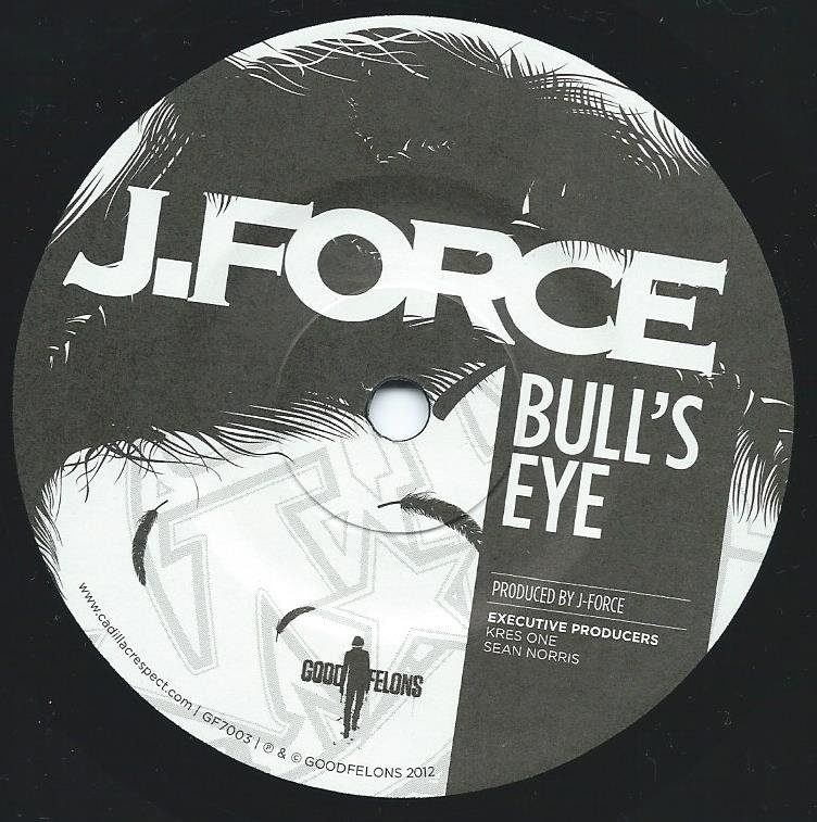 J-FORCE / BULL'S EYE / BULL'S EYE-DJ MIKE SMOOTH REMIX (7