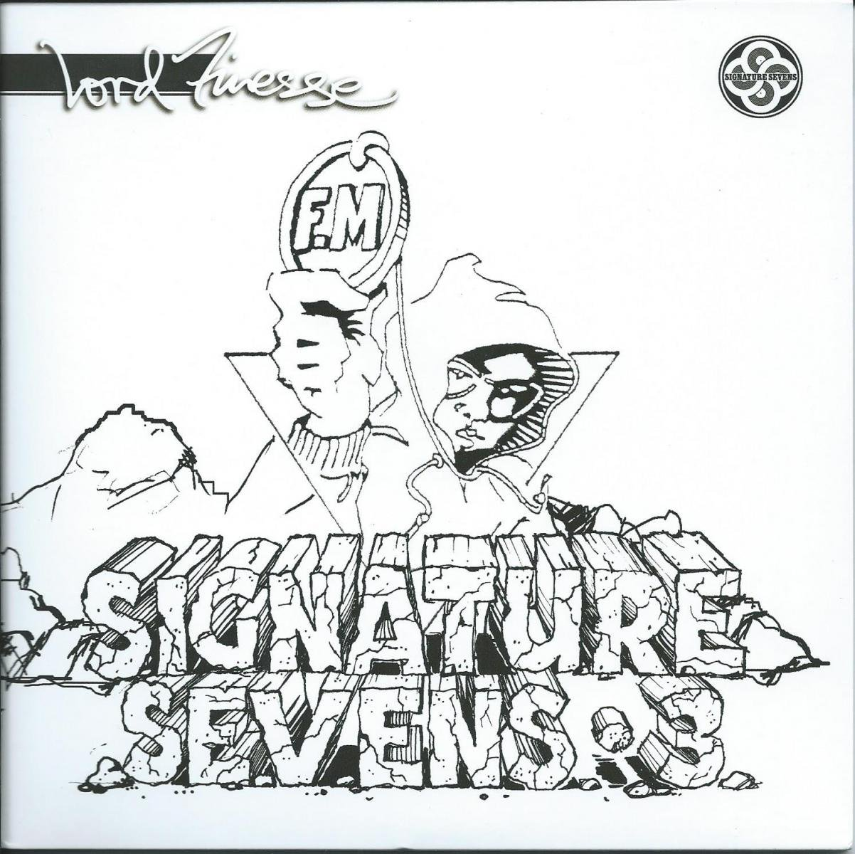 LORD FINESSE / PULL YA CARD / CHECK ME OUT BABY PAH (SIGNATURE SEVENS VOL3)(2×7