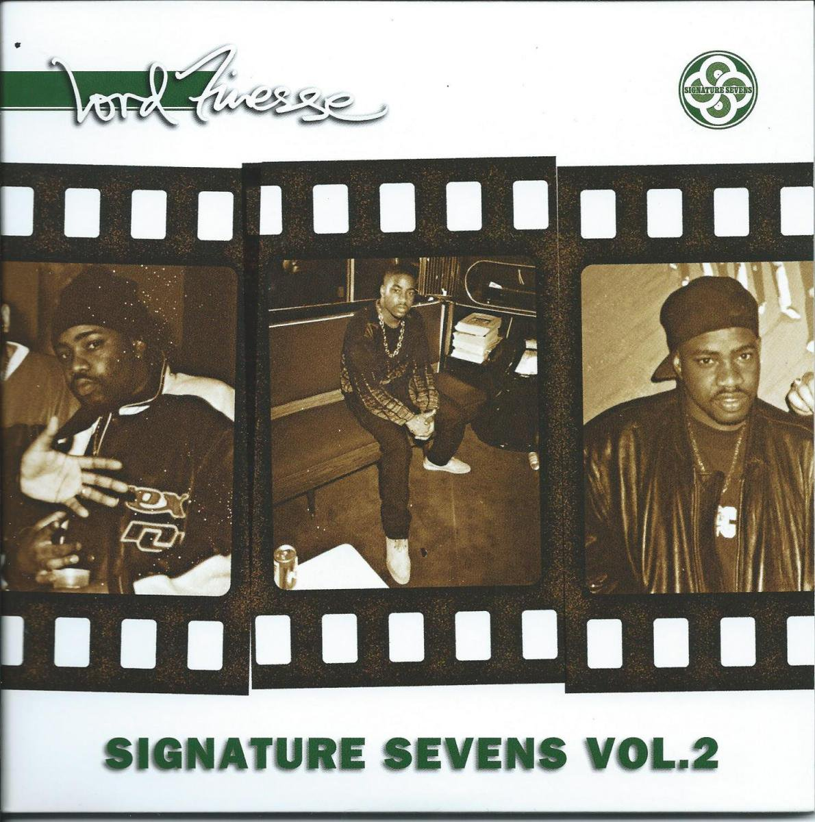 LORD FINESSE / S.K.I.S.-REMIX / SET IT OFF TROOP (SIGNATURE SEVENS VOL2)(2×7