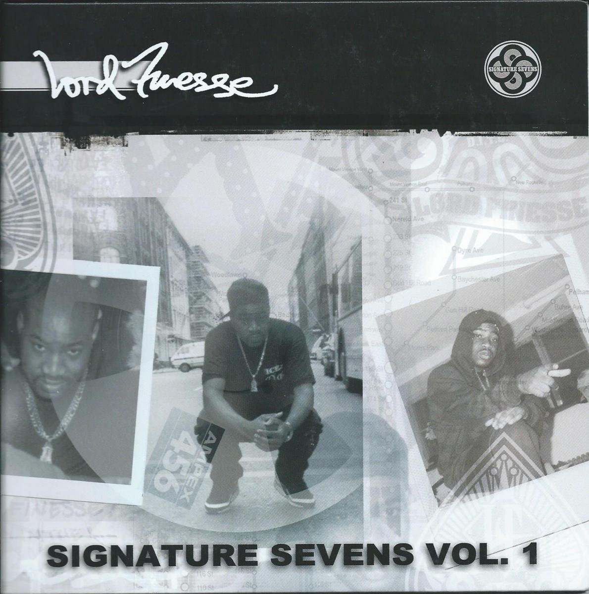 LORD FINESSE / HANDS IN THE AIR,MOUTH SHUT / ISN'T HE SOMETHIG-REMIX  (SIGNATURE SEVENS VOL1)(2×7