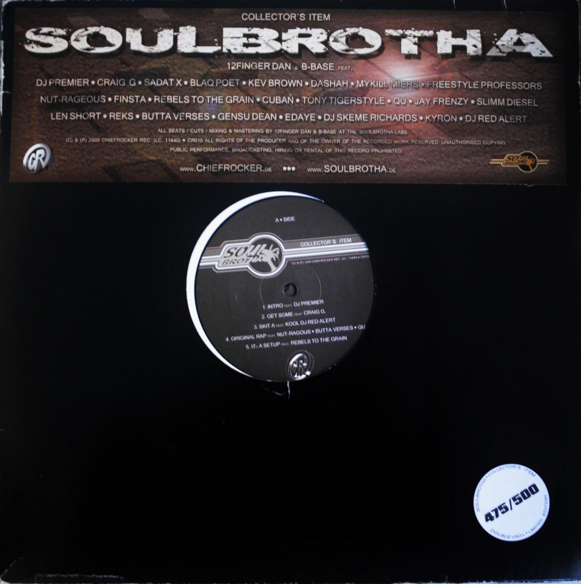 SOULBROTHA / COLLECTOR'S ITEM (2LP)