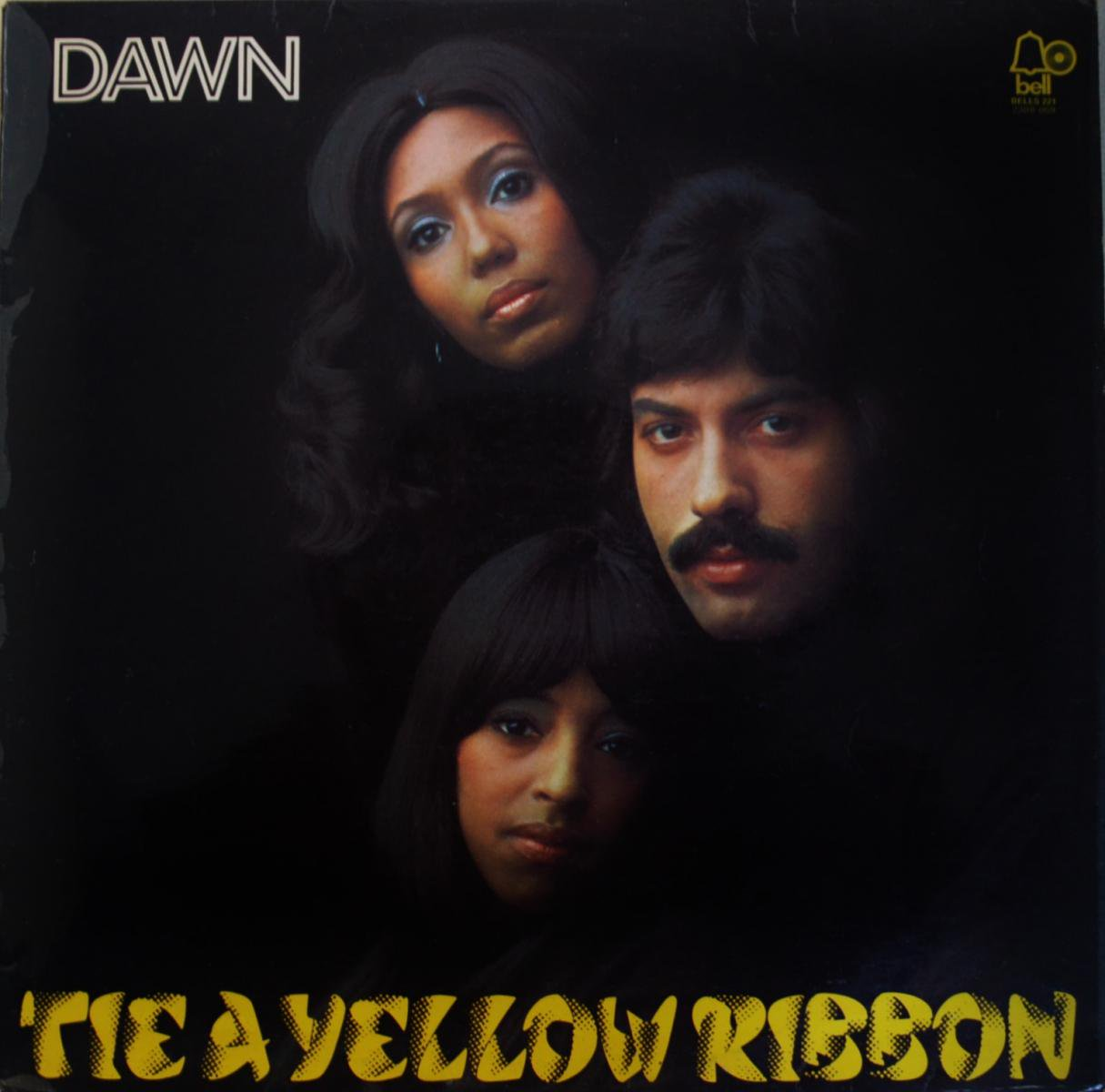 DAWN / TIE A YELLOW RIBBON-UK (LP)