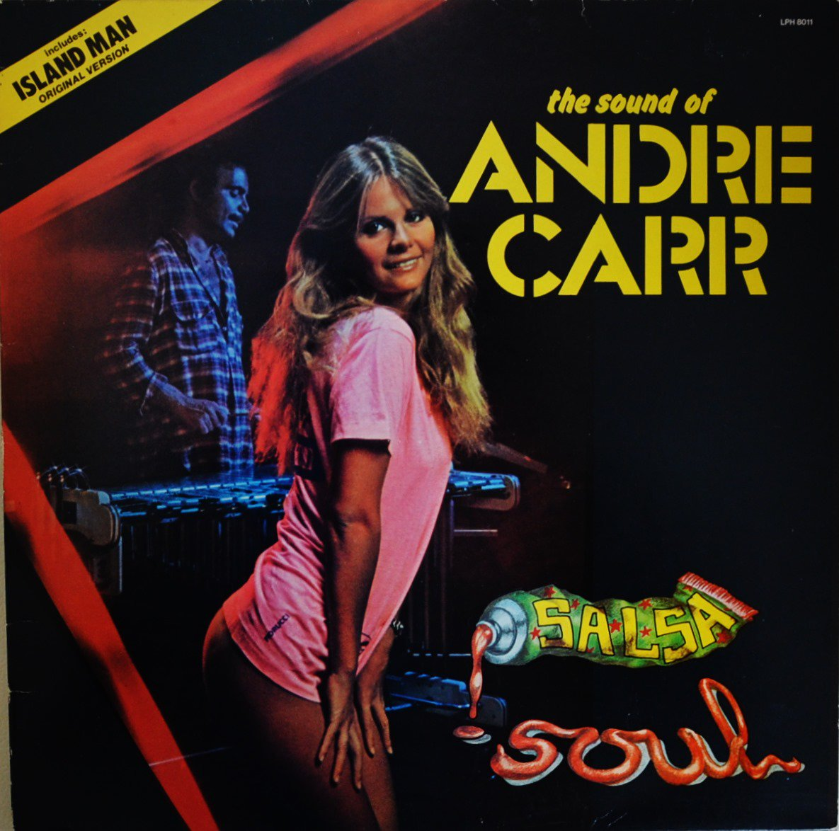 ANDRE CARR / SALSA SOUL - THE SOUND OF ANDRE CARR (LP)