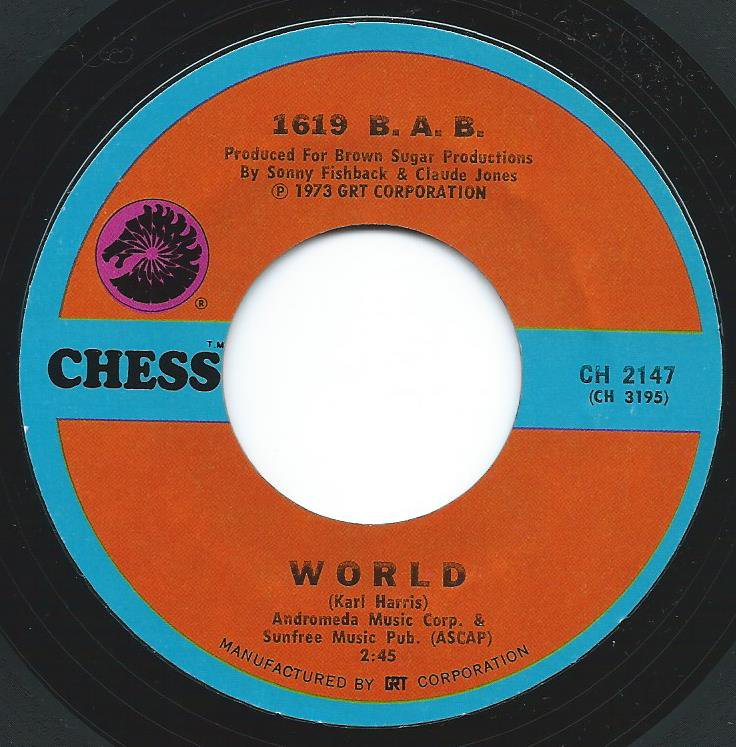 1619 B.A.B. / WORLD / FOR YOUR LOVE (7
