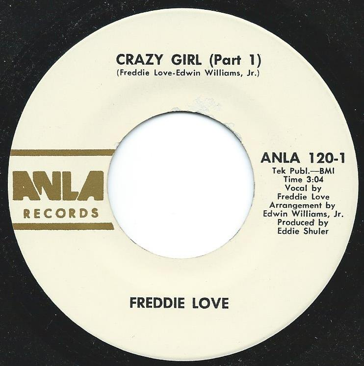 FREDDIE LOVE / CRAZY GIRL (PART 1 & 2) (7