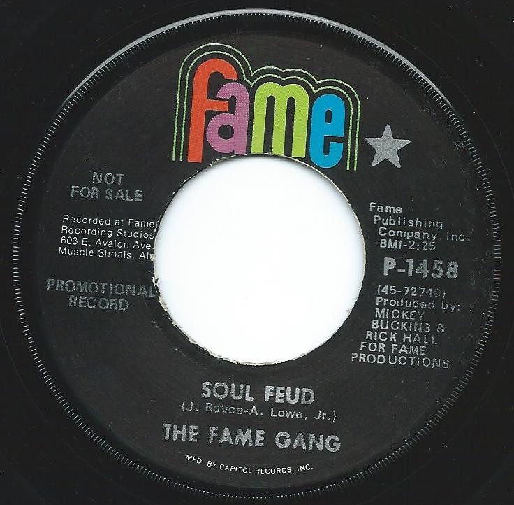 THE FAME GANG / SOUL FEUD / GRITS AND GRAVY (7