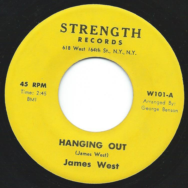 JAMES WEST / HANGING OUT (7