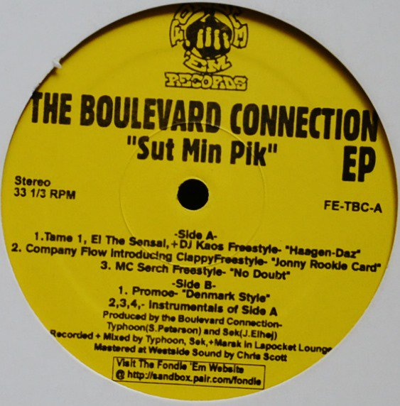 THE BOULEVARD CONNECTION / SUT MIN PIK EP (12