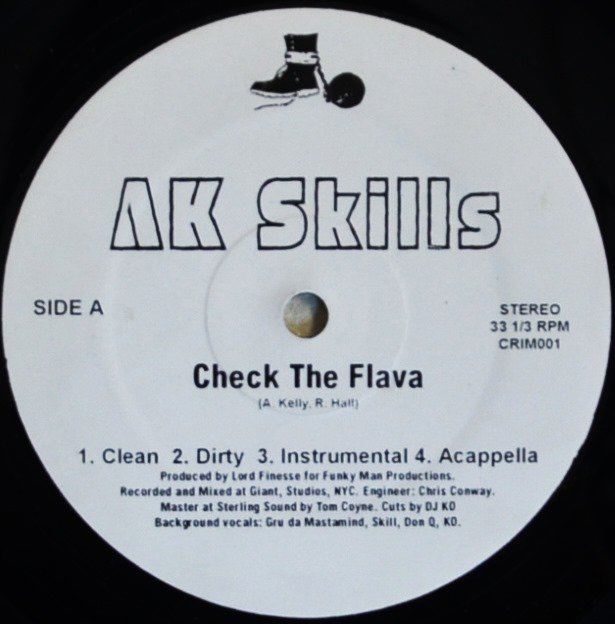 AK SKILLS / CHECK THE FLAVA (Prod By Lord Finesse) / NIGHTS OF FEAR (Prod By Buckwild) (12