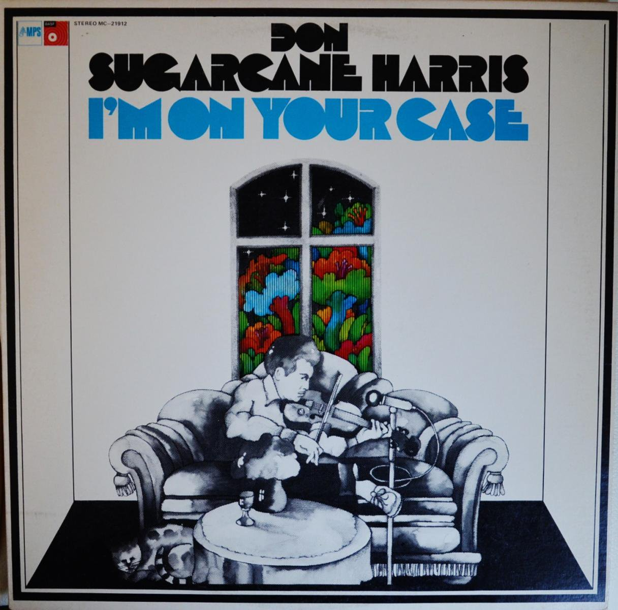 DON SUGARCANE HARRIS / I'M ON YOUR CASE (LP)