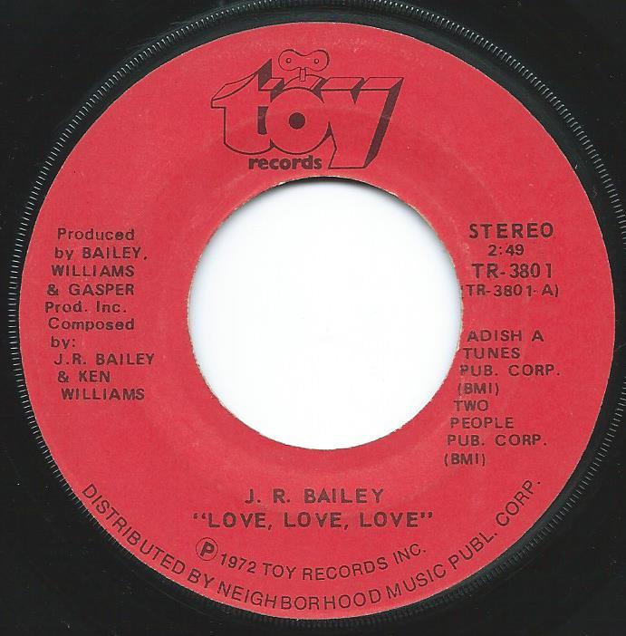 J.R.BAILEY / LOVE,LOVE,LOVE (7
