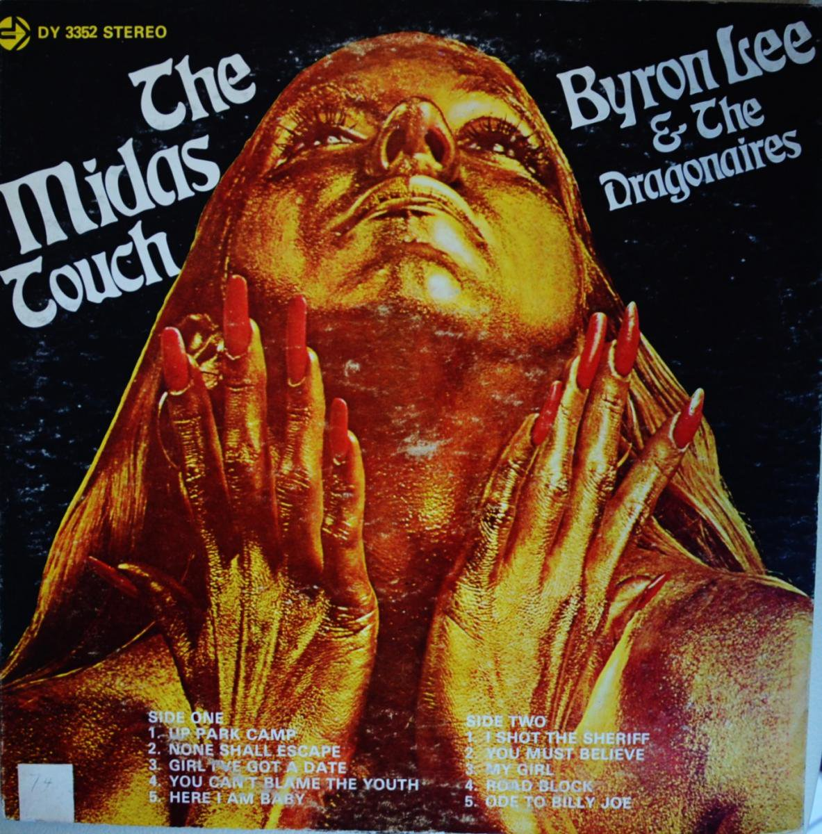 BYRON LEE AND THE DRAGONAIRES / THE MIDAS TOUCH (LP)