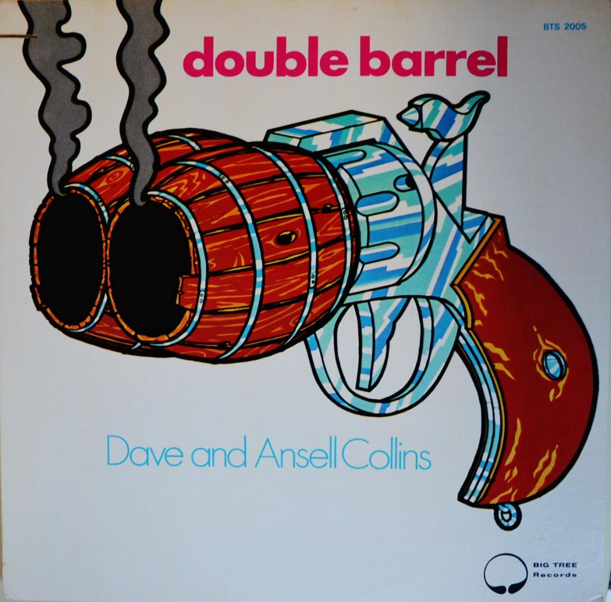 DAVE AND ANSELL COLLINS / DOUBLE BARREL (LP)
