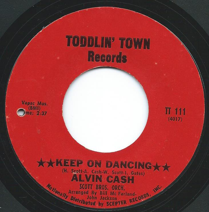 ALVIN CASH / KEEP ON DANCING (7