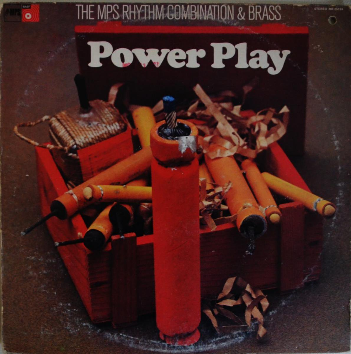 THE MPS RHYTHM COMBINATION & BRASS / POWER PLAY (LP)