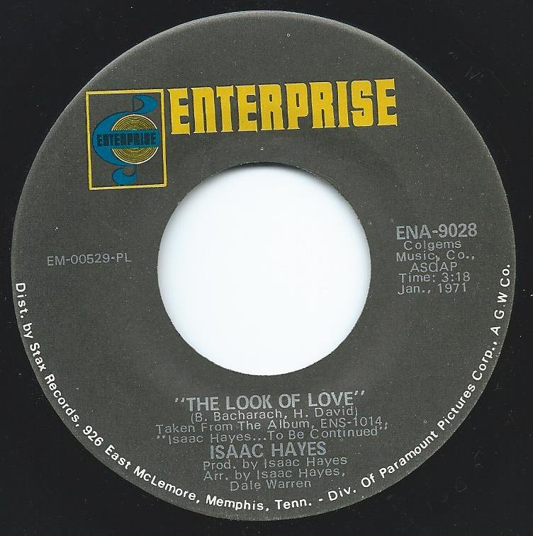 ISAAC HAYES / THE LOOK OF LOVE / IKE'S MOOD (7