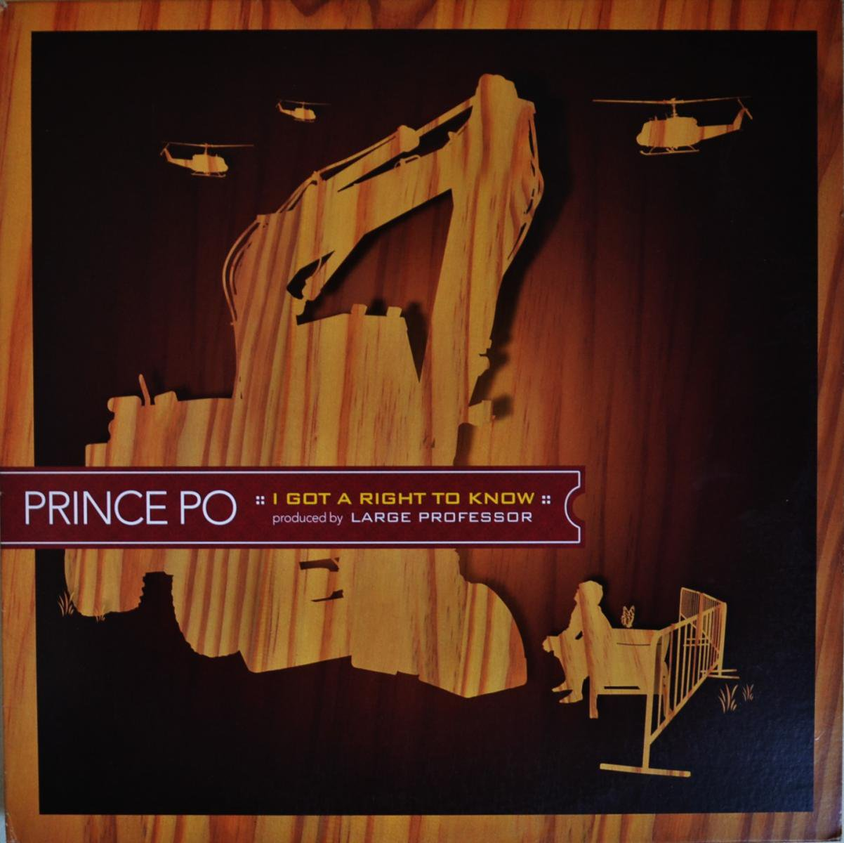 PRINCE PO / I GOT A RIGHT TO KNOW (Prod By LARGE PROFESSOR) (12