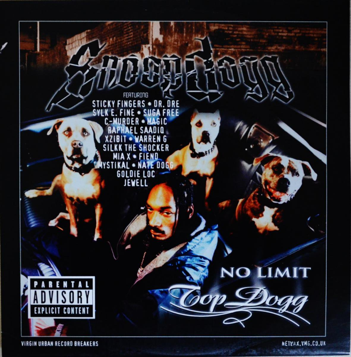SNOOP DOGG / SOMETHING BOUT YO BIDNESS / DON'T TELL-UK 4 TRACKS EP (NO LIMIT TOP DOGG) (12