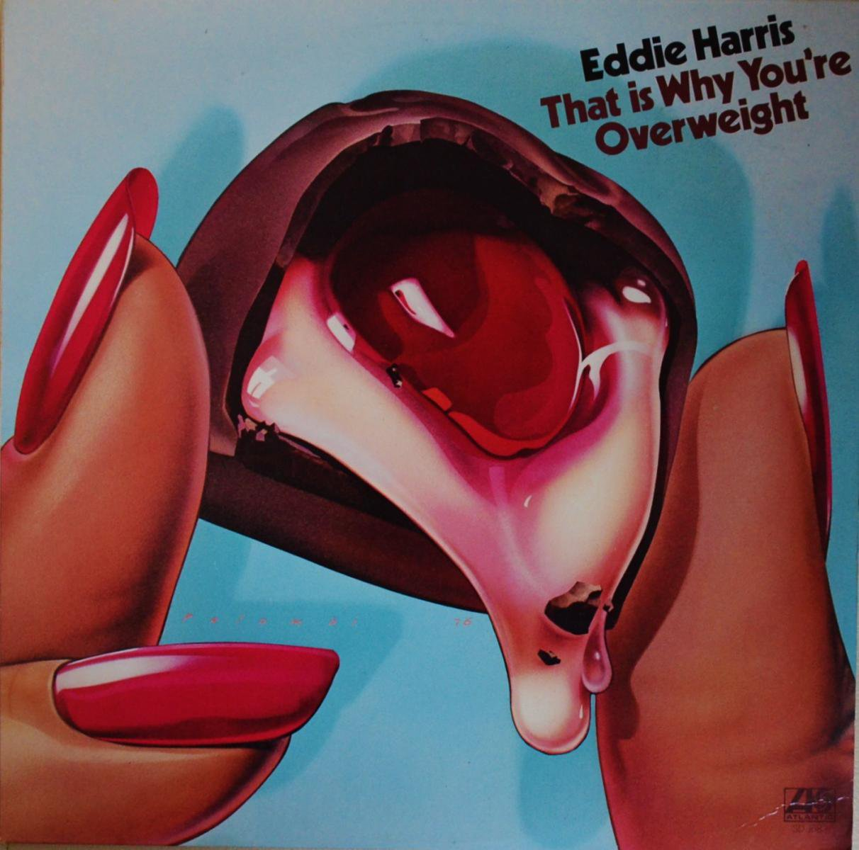 EDDIE HARRIS / THAT IS WHY YOU'RE OVERWEIGHT (LP)