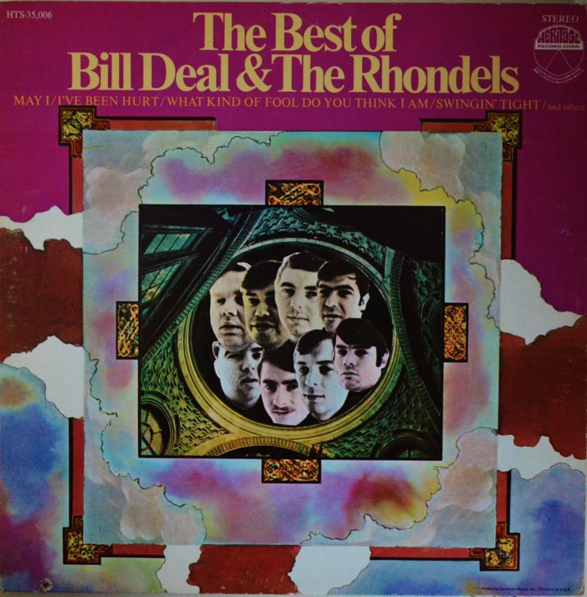 BILL DEAL & THE RHONDELS / THE BEST OF BILL DEAL & THE RHONDELS (LP)