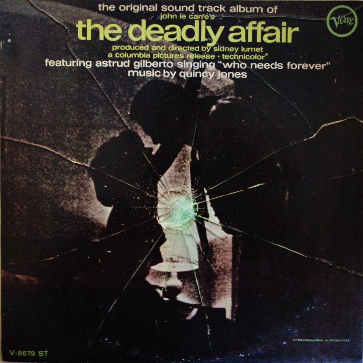 O.S.T. (QUINCY JONES) / THE DEADLY AFFAIR (LP)