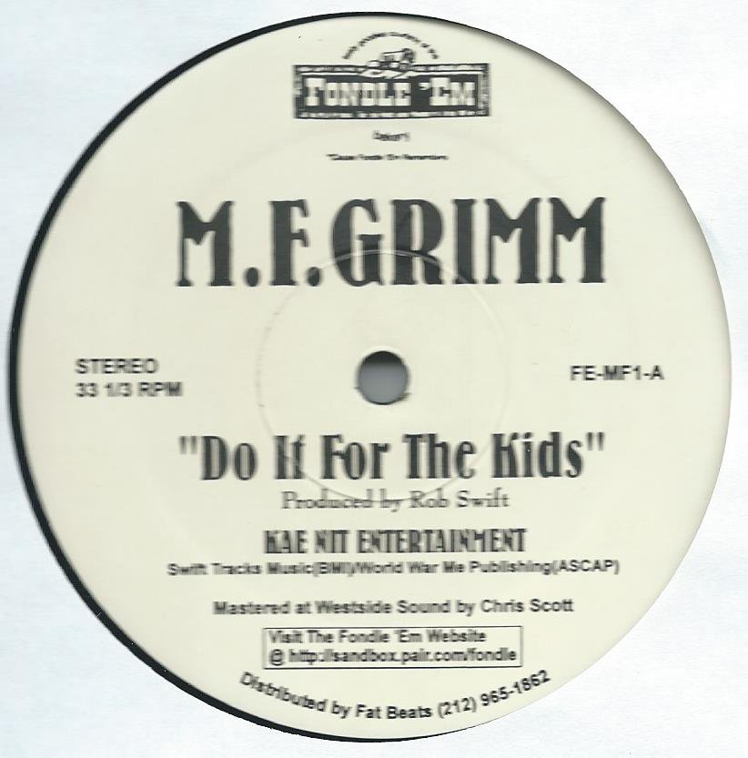 M.F.GRIMM / DO IT FOR THE KIDS (12