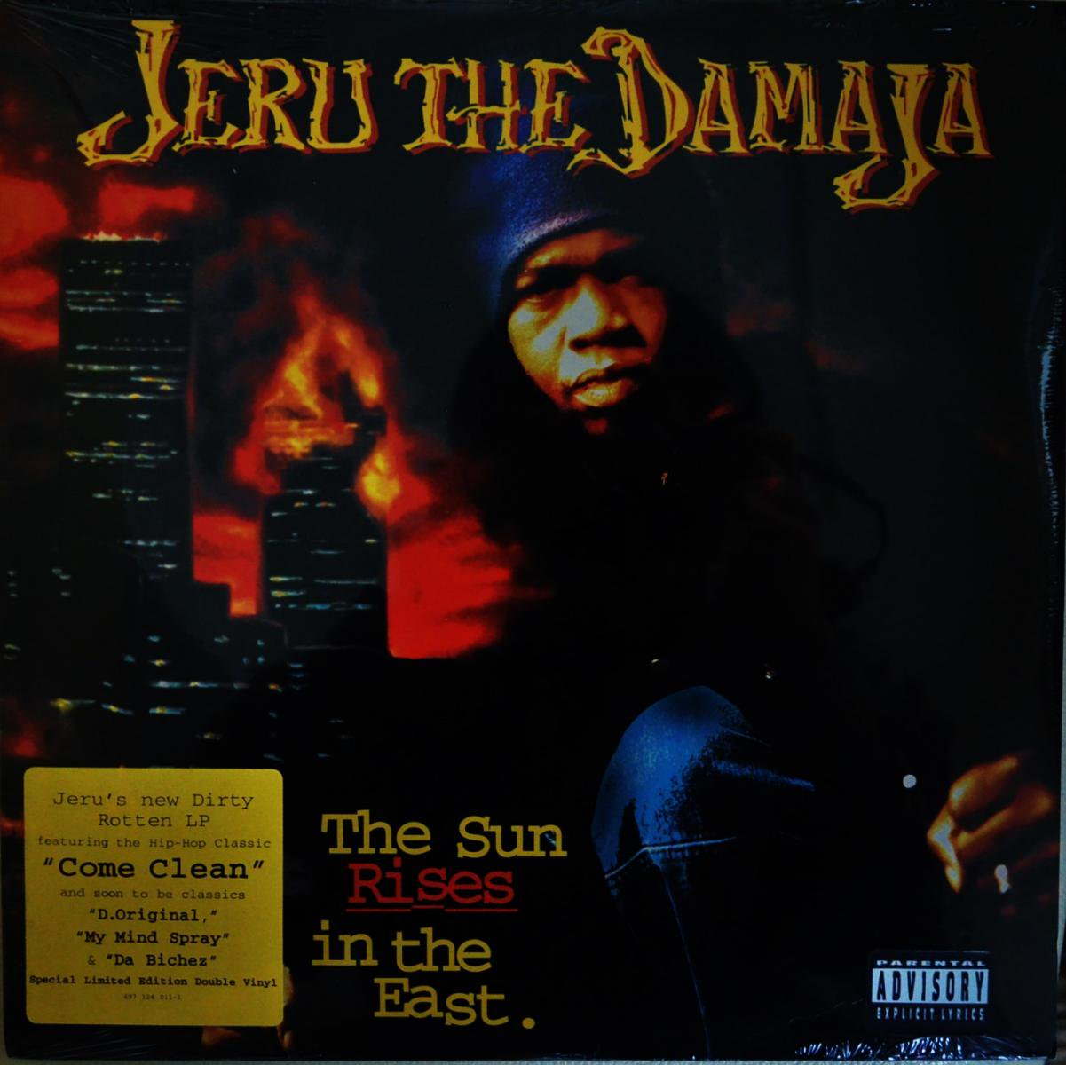 JERU THE DAMAJA / THE SUN RISES IN THE EAST (2LP)