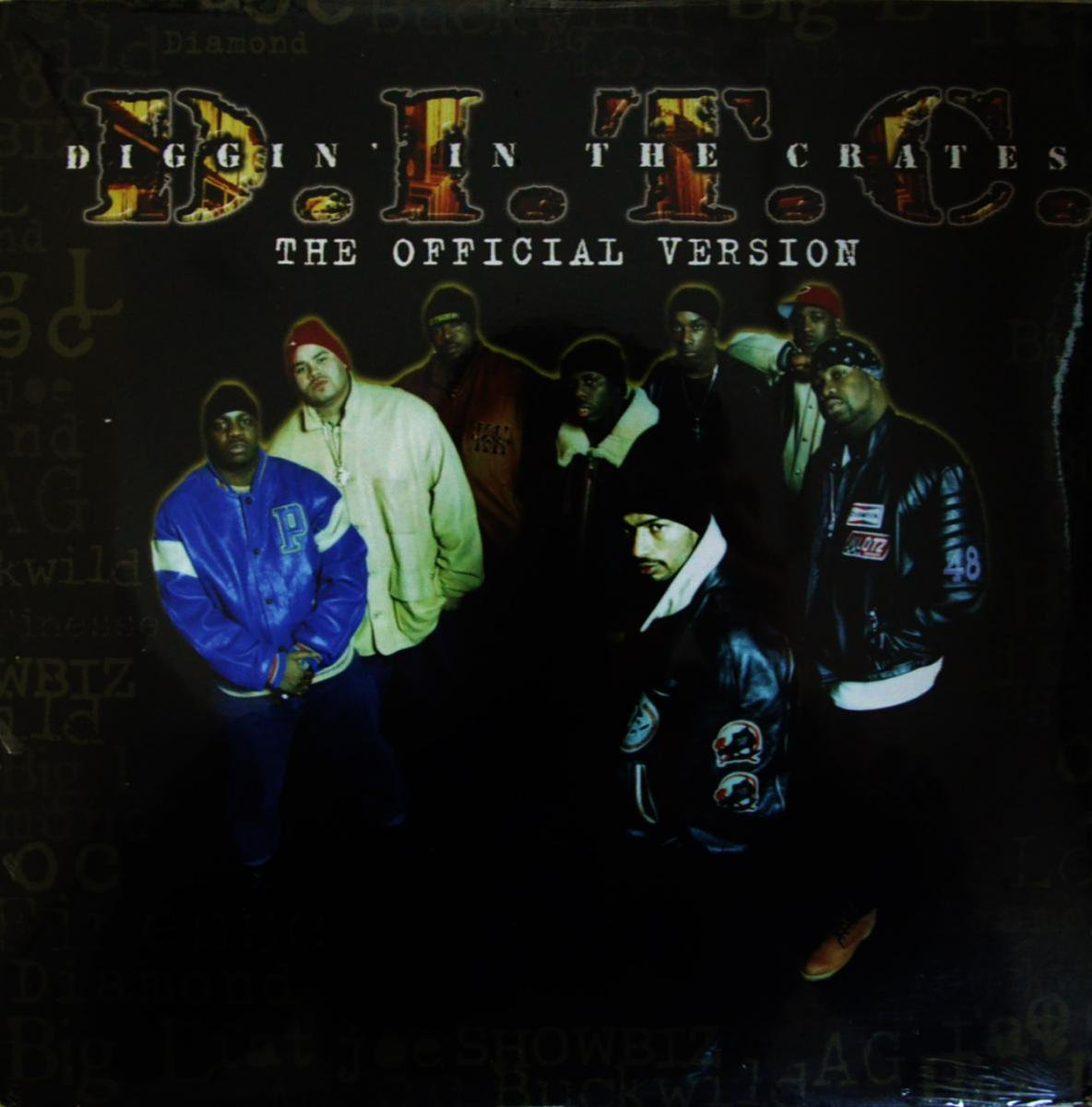 D.I.T.C. (DIGGIN IN THE CRATES) / THE OFFICIAL VERSION (2LP)